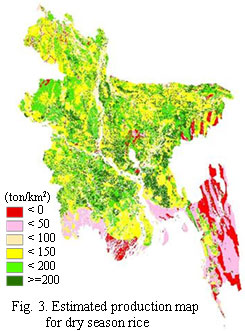 """Fig.3. Estimated production map for dry season rice"",""title"""