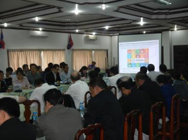 JIRCAS木村主任研究員による標記会合での発表