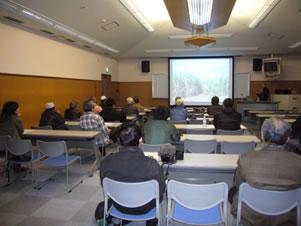 第38回熱研市民公開講座で熱心に聴講する市民
