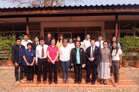 サトウキビ改良のための日本とタイの共同研究プロジェクト成果報告会参加者