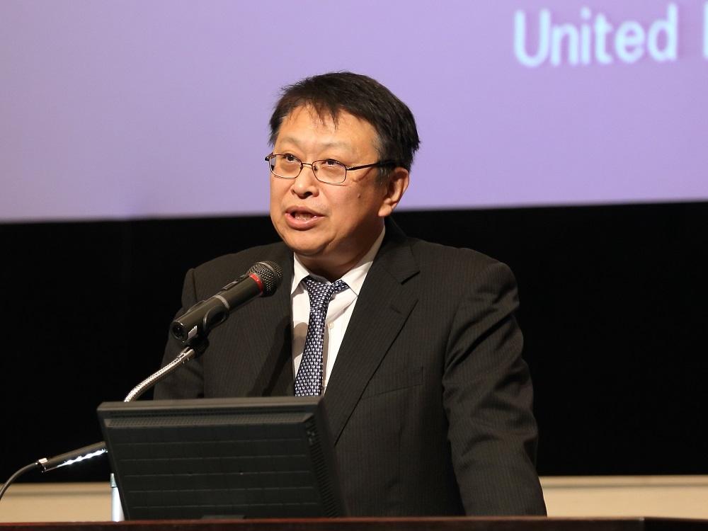 来賓挨拶:西郷正道 農林水産技術会議事務局長