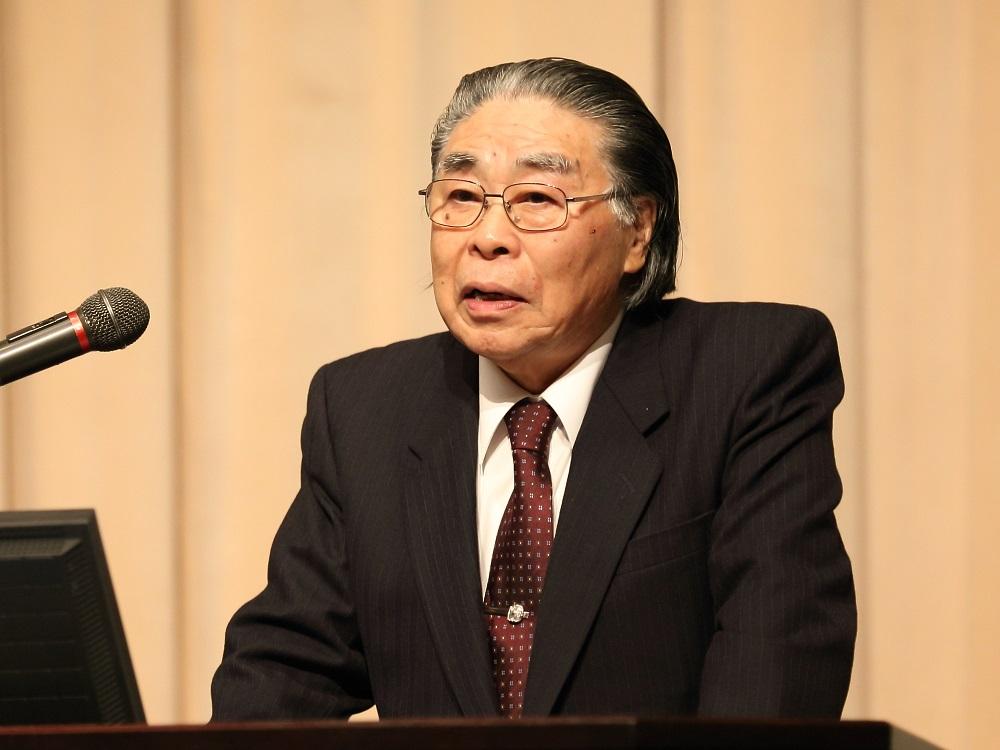 Keynote speech: Dr.Kazumi Maeda, Professor Emeritus of Kochi University