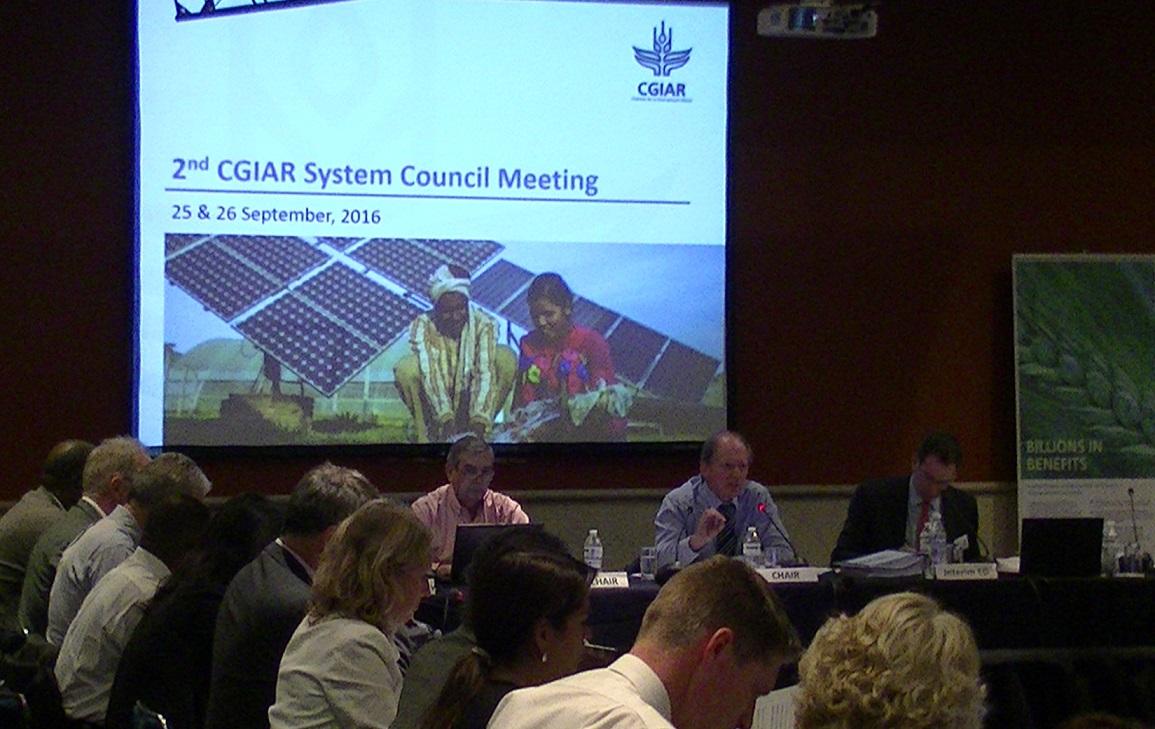 第2回国際農業研究協議グループシステム理事会