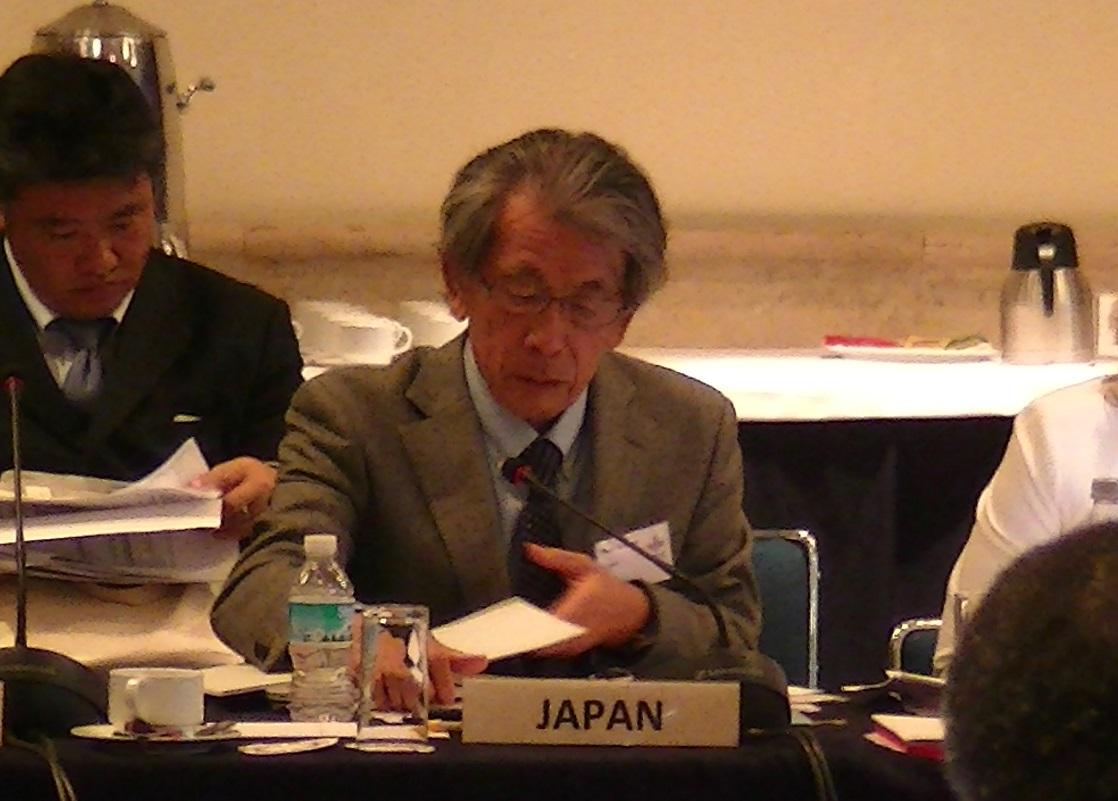 日本代表として参加した岩永理事長
