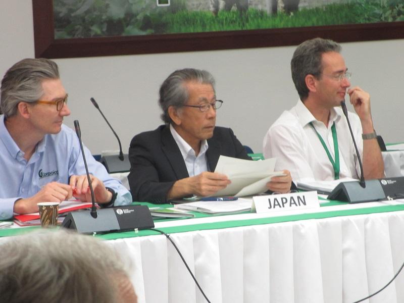 会議に参加する岩永理事長(写真提供:農林水産技術会議事務局)