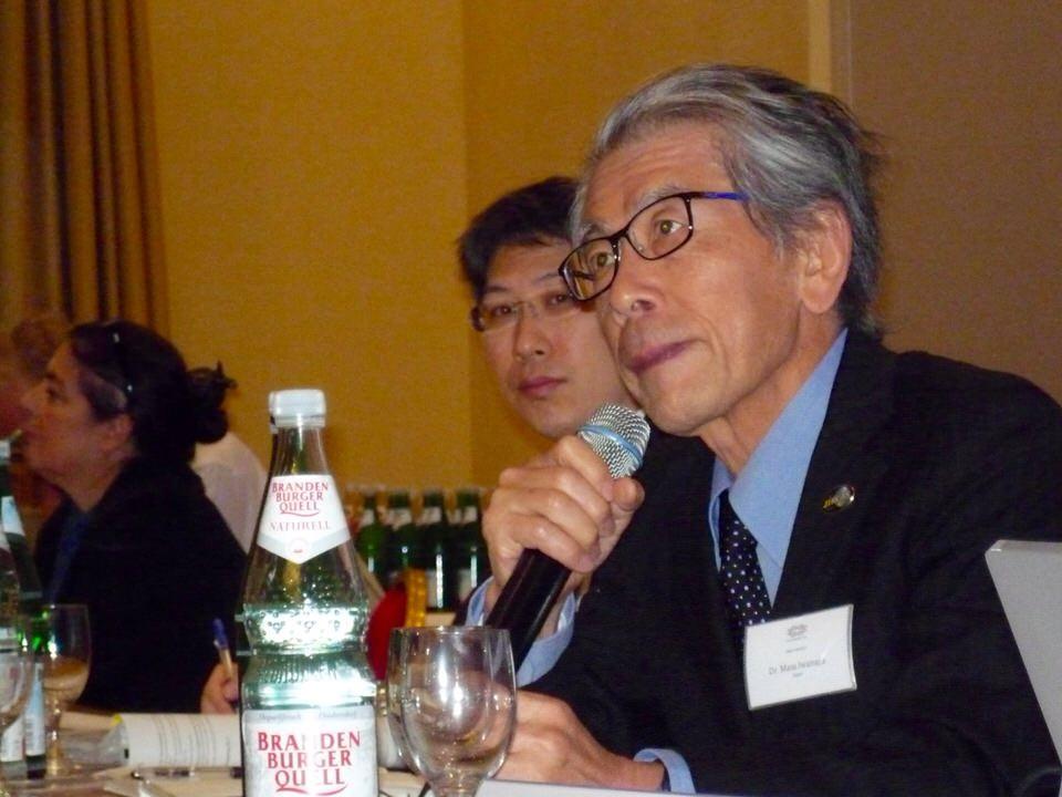 栄養ベースの食料安全保障の重要性を提案する岩永理事長