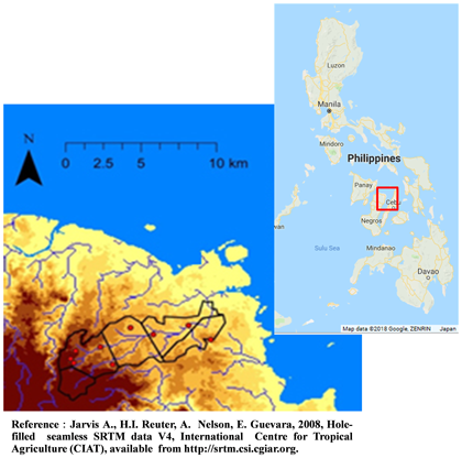 Fig. 1. Research area(Sagay City, Northern Negros Island)