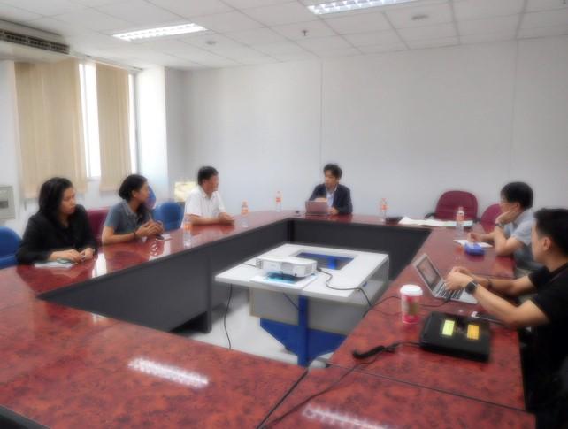 写真5.KMUTTの若手研究者との意見交換会の様子