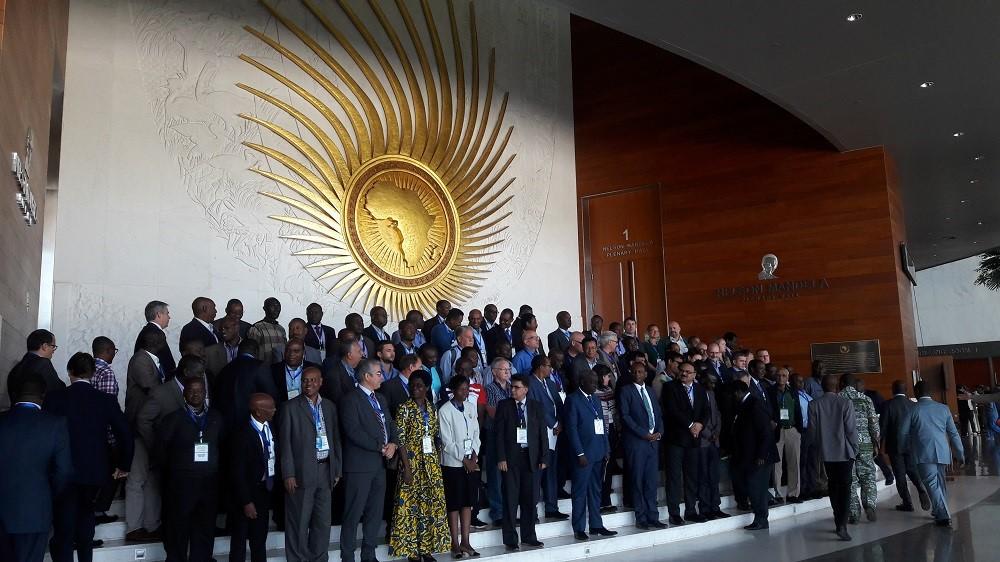 国際研究機関・国連機関・アフリカ連合・アフリカ各国やアメリカ・ブラジル・中国からも参加
