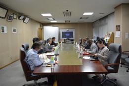 JIRCAS幹部職員と大使一行の意見交換