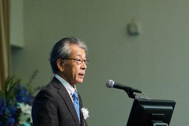 開会の挨拶:岩永勝 JIRCAS理事長