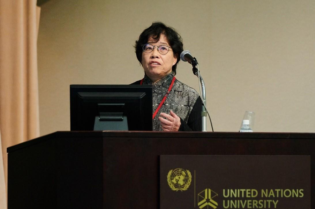 基調講演:中田薫 水産研究・教育機構理事