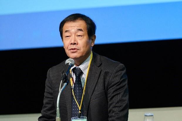 来賓の挨拶:島田和彦 農林水産技術会議事務局研究総務官