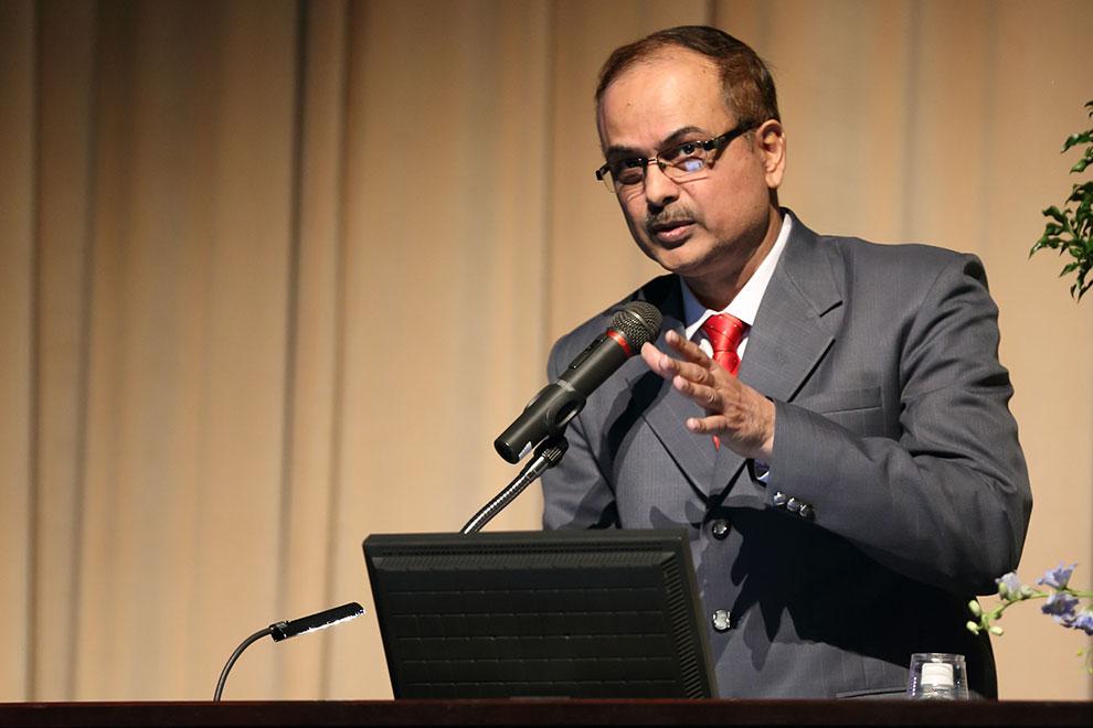 Girish Pradad Dixit(国立食用マメ類研究所プロジェクト コーディネーター)