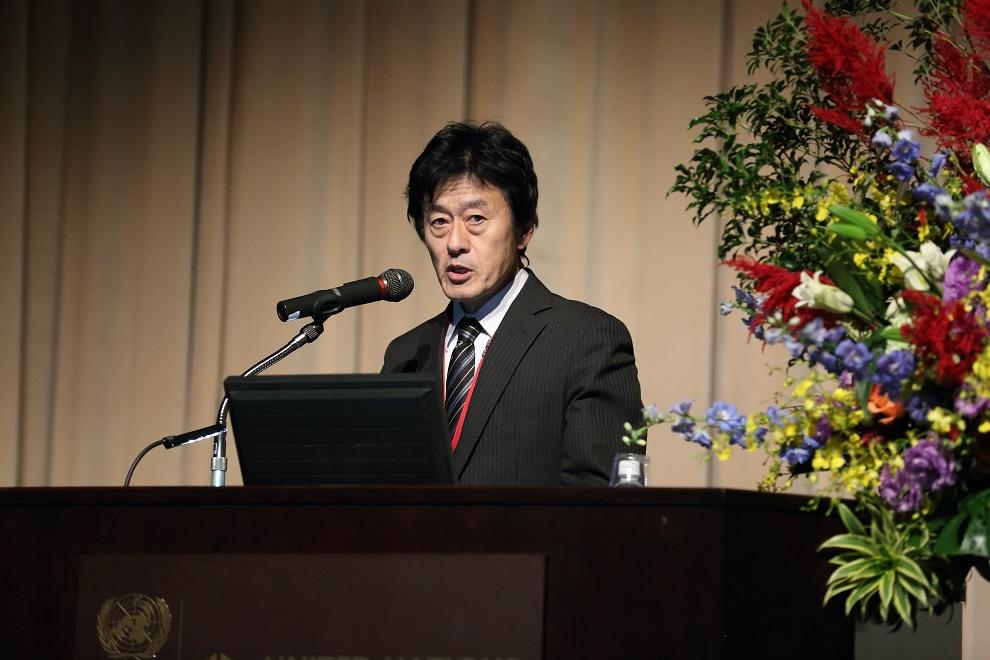 友岡 憲彦(農研機構遺伝資源センター調整室長)