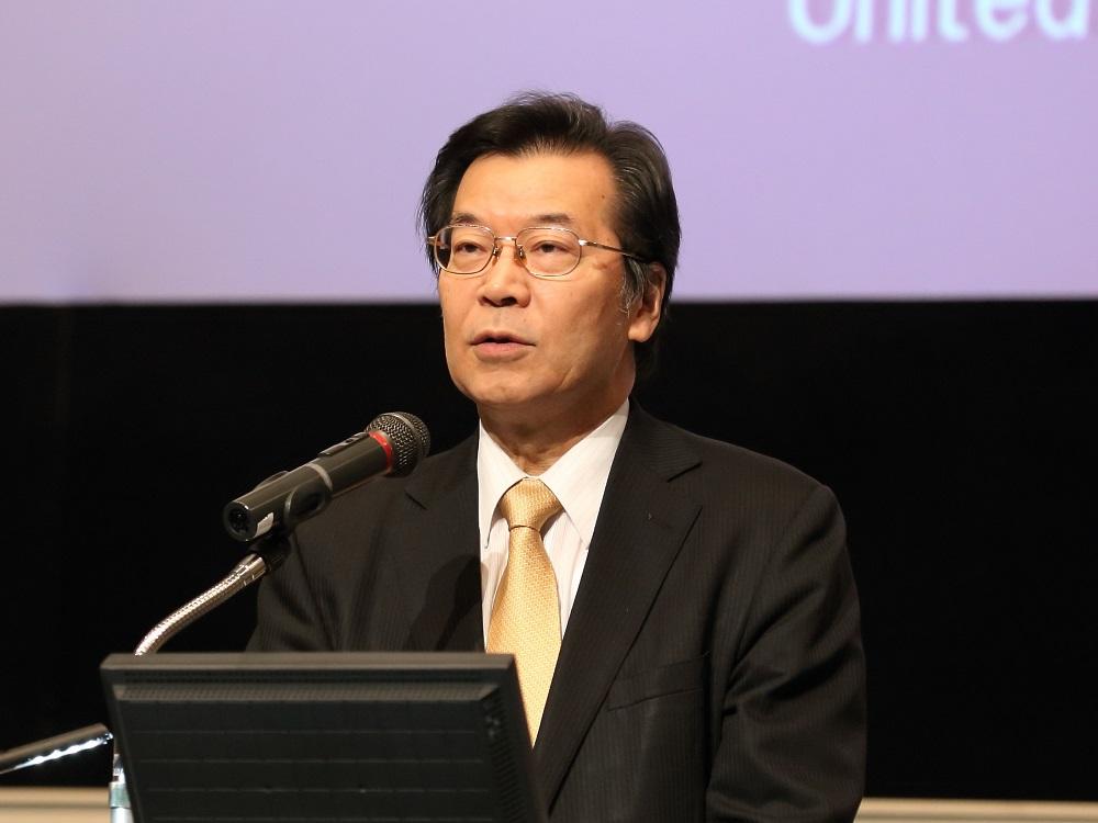 Welcome remarks: Dr. Kazuhiko Takemoto, Director of UNU-IAS