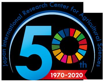 国際農研創立50周年記念ロゴマーク