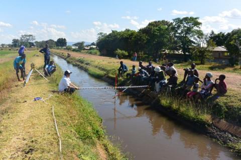 水路流速測定