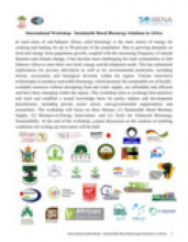 Workshop on Sustainable Rural Bioenergy Solutions in Africa